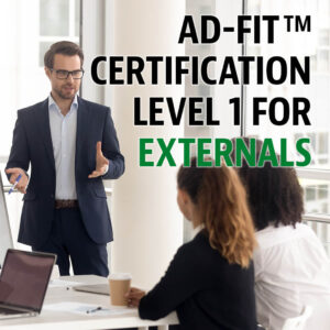 ad-fit certification lvl1 for externals