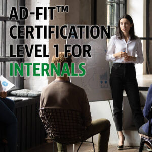 ad-fit certification lvl1 for internals